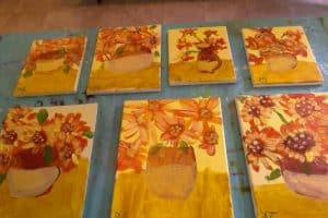Montessori Preschool Art Project